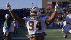 College football players turned famous actors – No. 4, Dwayne #TheRock Johnson, Miami #movies #sports #actor