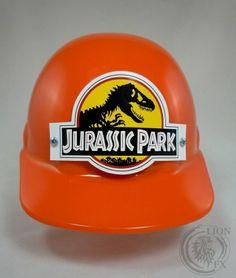 JURASSIC PARK HARD HAT PROP PARK WORKER HELMET REPLICA