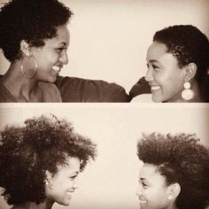 untouchmyhair:  A journey together! Love it