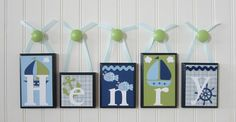 TidewaterParent.com is loving this name decor inspiration!  #parent #nursery #babynames