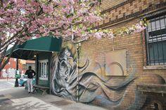 Aujourd'hui sur le blog, on part à la découverte du quartier de Bushwick à Brooklyn pour découvrir un peu de street art New Yorkais!
