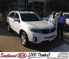 #HappyBirthday to Janet Launza from Clinton Miller at Southwest Kia Mesquite!