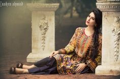 a4d5d15287 Designer Zahra Ahmed is Pakistan's very common and important fashion label…