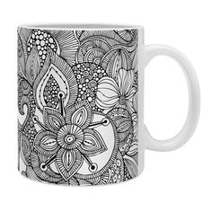 Valentina Ramos Doodles Coffee Mug   DENY Designs Home Accessories