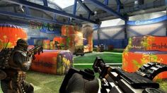 Rush DLC Map on Call of Duty: Black Ops 2.