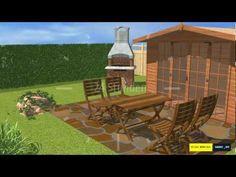 Naturstein / Natursteinplatten und Polygonalplatten verlegen und verfugen - SAKRET Heimwerker TV - YouTube