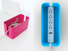 CableBox - such a smart idea to hid unsightly cords.