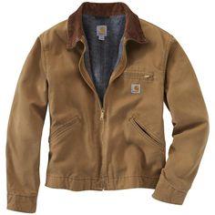 Carhartt® Weathered Duck Detroit Jacket - the All-American work jacket worn by Matthew McConaughey in #Interstellar!