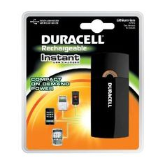 Duracell Instant USB Charger with Lithium Ion Battery/Includes Universal Cable with USB and mini USB --- http://www.amazon.com/Duracell-Instant-Charger-Includes-Universal/dp/B002FU6KF2/?tag=zaheerbabarco-20