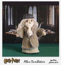 #amigurumi Harry Potter Dumbledore