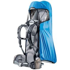 beb2504b575 The Deuter Kid Comfort Deluxe rain cover offers your little passenger  complete protection from rain and wind.