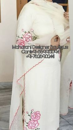 """""""Checkout latest collection of trouser suit for ladies Online in India. Online shopping for Trouser Suits from a great selection at Clothing Store"""" 👉 CALL US : + 91 - 01094 or Whatsapp DESIGNER Salwar Kameez, Designer Punjabi Suits Patiala, Punjabi Suits Designer Boutique, Boutique Suits, Indian Designer Suits, New Suit Design, Ladies Suit Design, Fancy Dress Design, Embroidery Suits Punjabi"""