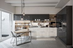 Μοντερνα επιπλα κουζινας VENETA CUCINE - μοντέλο START GO Kitchen Dining, Bologna, Table, Kitchens, App, Album, Furniture, Home Decor, Trendy Tree