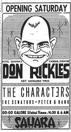 Great Graphics Don Rickles ad