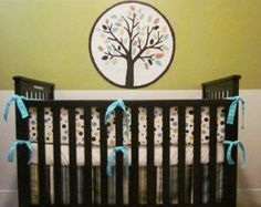 Complete Crib Bedding Set Sewing Pattern - Includes 3 PDF Patterns