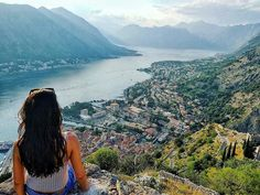 Stamp #598 - Montenegro : Hiking in #Koror. This was taken on the hike up the fortress of Sveti Stefan also known as St John in Kotor Montenegro . My tip is to keep going  you might be tempted to stop half way  but once at the top you will be awarded with breathtaking panoramic views of the mountains the old town red roof tops and blue bay. It's worth the 1350 steps . Thank you @sanja_sb for leaving your #ShareYourStamp!!  For more awesome #travel and #wanderlust tips and #adventure download…