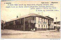 chile 1920 hotel de punta arena