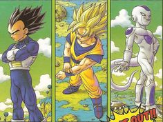 Dragon Ball Z/GT/Super — dragonballzlightning: Akira Toriyama...