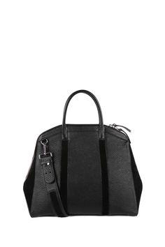Mackage - ONELIA  LARGE BLACK TOTE BAG