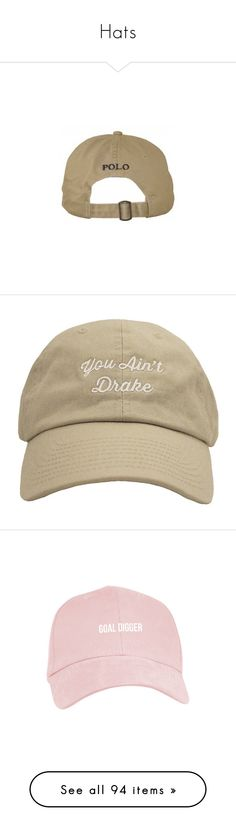"""""""Hats"""" by power-beauty ❤ liked on Polyvore featuring accessories, hats, sports cap, sport hats, sport caps, sports hats, sports caps hats, white hat, distressed baseball cap and embroidered baseball caps"""