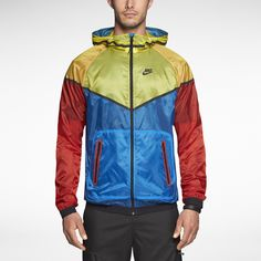 The Nike Tech Windrunner Men's Jacket. Probably goofy in real life but whatevs.