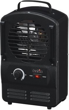 Duraflame DFH-UH-3-T Portable Electric Compact Durable Radiant Utility Heater Black