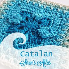 Catalan! One of the 52 patterns in my Siren's Atlas collection.