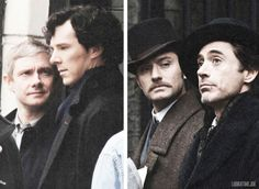 """That Watson look is universal.  AKA, the """"Why am I still here?"""" look."""