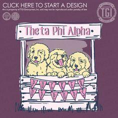 Theta Phi Alpha | ΘΦA | Philanthropy | Philanthropy Shirt |TGI Greek | Greek Apparel | Custom Apparel | Sorority Tee Shirts | Sorority T-shirts | Custom T-Shirts