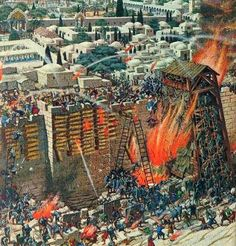 Siege and capture of Jerusalem in the 1st Jewish-Roman War.