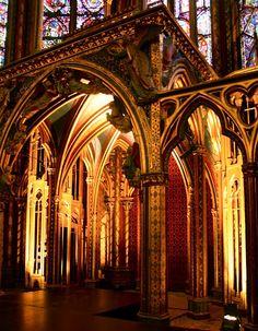 .churches of Paris, la Sainte-Chappelle