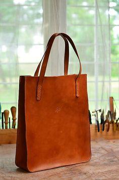 2850694829 Veľká kožená taška Oana - tote bag Madewell