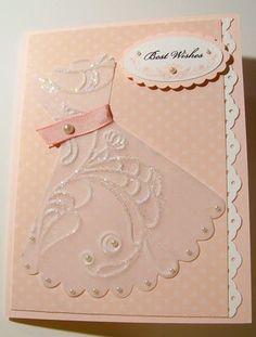 Bridal - elegant lines embossing folder