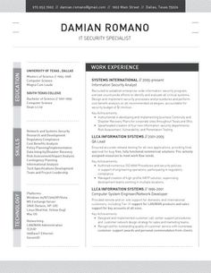 the structured resume by loft resumes 99 - Loft Resumes Free