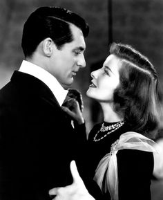 Bringing up baby ! Cary Grant and Katherine Hepburn