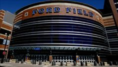 Ford Field - Home of the Detroit Lions, and home to the Michigan Competing Bands Association State Finals! Detroit Lions Football, Detroit Sports, Football Baby, Central Michigan, Detroit Michigan, Detroit Vs Everybody, Ford Field, Football Stadiums, Football Season