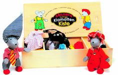 Amazon.com: Holztiger > Dress Up Mice Fun Box Wooden Toy Set: Toys & Games