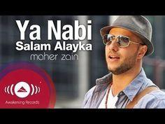 Maher Zain Assalamu Alayka Arabic ماهر زين السلام عليك Official Lyric Video Youtube Maher Zain Maher Zain Songs Islamic Music