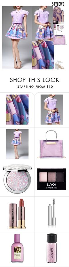 """""""Lovely look StyleWe"""" by eliza-redkina ❤ liked on Polyvore featuring Guerlain, NYX, Urban Decay, MAC Cosmetics, outfit, like, look, lovely and stylewe"""