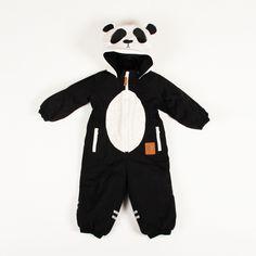 panda ski suit by Mini Rodini My Baby Girl, Baby Love, Toddler Fashion, Boy Fashion, Baby Girl Bedding, Hipster Babies, Snow Suit, Kids Prints, Little Boys