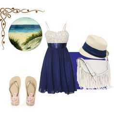 """""""Beach Day"""" by isi-belieber3 on Polyvore"""