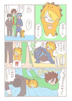 とうろぐ-刀剣乱舞漫画ログ - ベビ獅子ちゃんと意外と面倒見のいい奴ら