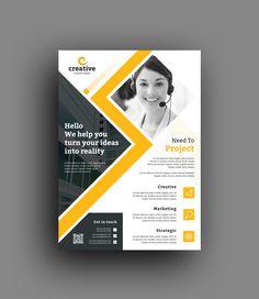 Edison Modern Business Corporate Flyer Template 6