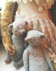 """AniTeddys""-vintage Teddy's from Tsymbal Anna | VK"