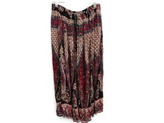 Festival Hippie Skirt Ethnic India Maxi length by prettycatvintage, $22.00