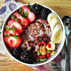 Teff Porridge with Oatmeal Teff Recipes, Baking Recipes, Vegetarian Recipes, Healthy Recipes, Healthy Food, Breakfast Porridge, Breakfast Bowls, Breakfast Recipes, Sweet Recipes