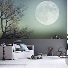 40 Of The Most Incredible Wall Murals Designs You Have Ever Seen. I Would  Love A Full Moon Mural Somewhere In The House. Maybe Combined With Those U2026 Part 83