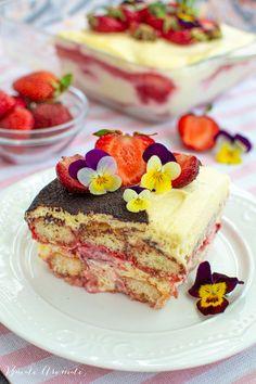 Tiramisu, Something Sweet, Dessert Recipes, Desserts, Cheesecake, Sweets, Cooking, Cake Recipes, Mascarpone