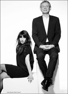 Martin Clunes, Caroline Catz. Radio times cover