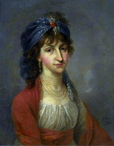 Portrait of Kazimiera Wilżyna née Potocka.